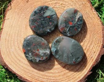 Bloodstone Medium Medallions or Thumbstone