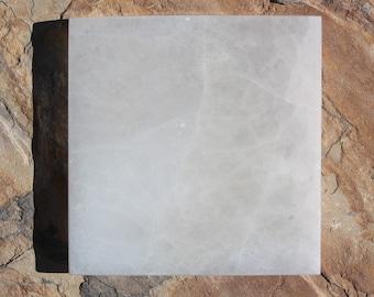 Selenite Large Square Charging Plate