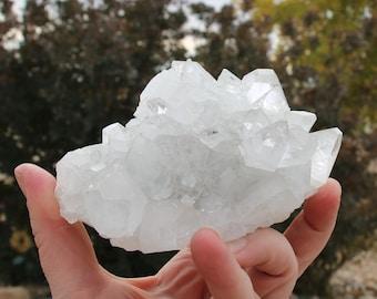 Apophyllite Raw Clear 90