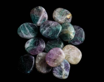 Multi-Colored Fluorite Medium Thumb Stone