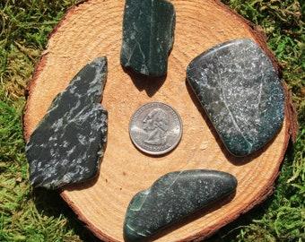 Jade Polished Pieces #A-I
