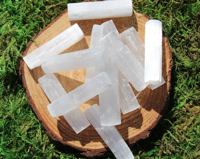 Featured listing image: Selenite Morocco Raw Bar Small- baby bars