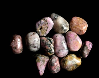 Cobaltoan Calcite Medium Tumbled