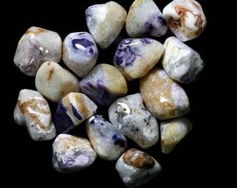 Mexican Blue (Purple) Opal Tumbled