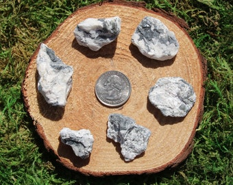 White Buffalo Dolomite Raw Pieces