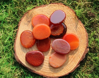 Fire Agate Thumbstone