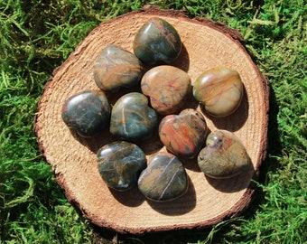 Network Stone- Cherry Creek Jasper Medium Hearts