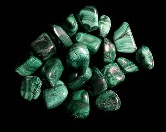 Malachite Medium Tumbled