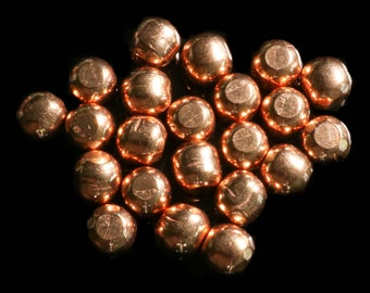 Copper Rounds Small Side of Medium