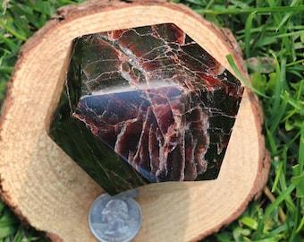 Garnet Polished Piece #125 **damaged**