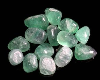 Green Fluorite Medium Tumbled
