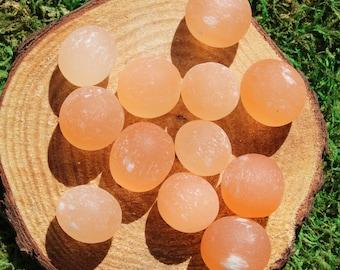 Orange Selenite Polished Medium