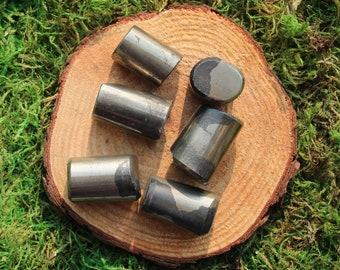 Pyrite Polished Cut Cylinders