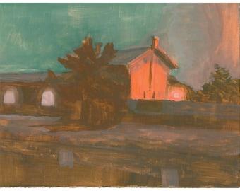 Evening (Print)