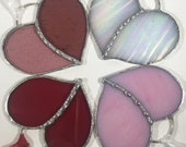 Stained Glass Heart Gift love token