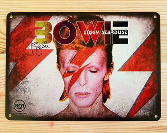 David Bowie Sign Etsy