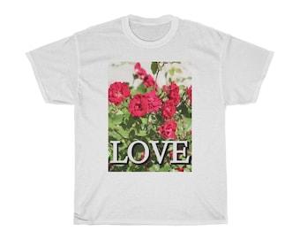 LOVE Tee Shirt-Unisex Tee Shirt-Inspirational, Love, Goodness, Equality, Unity