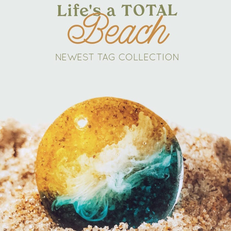 Life\u2019s A Beach Pet Tag