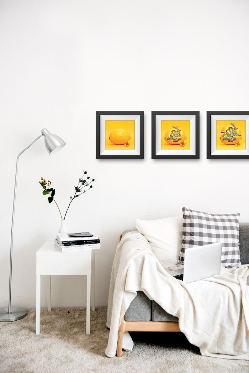 The Lemon Blossom Wall Art