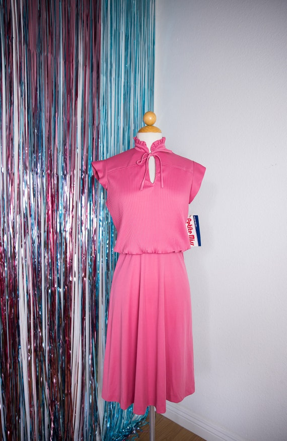 Vintage 60's Dusty Rose Dress