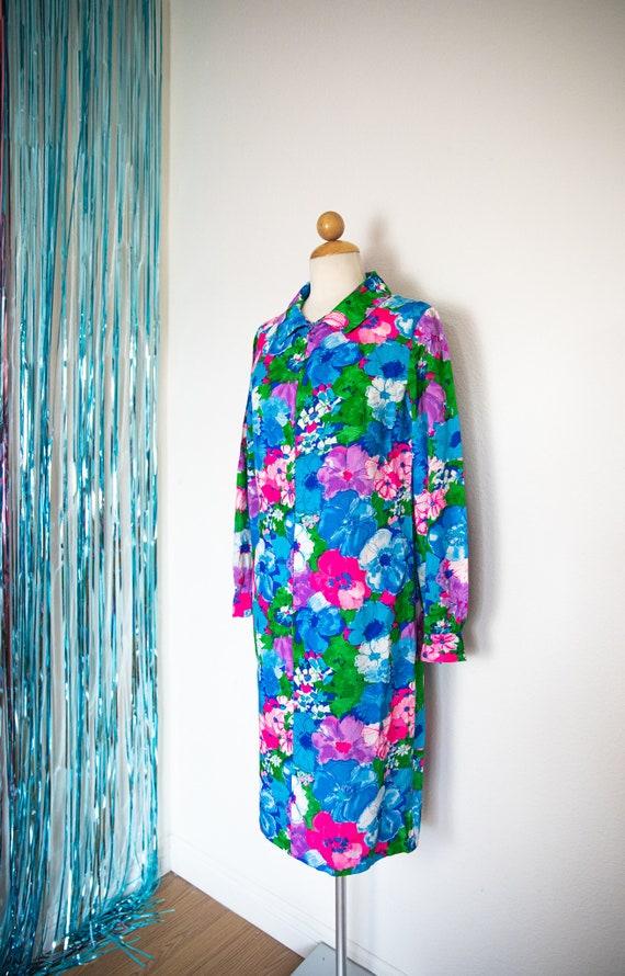 60's Vintage Floral Dress