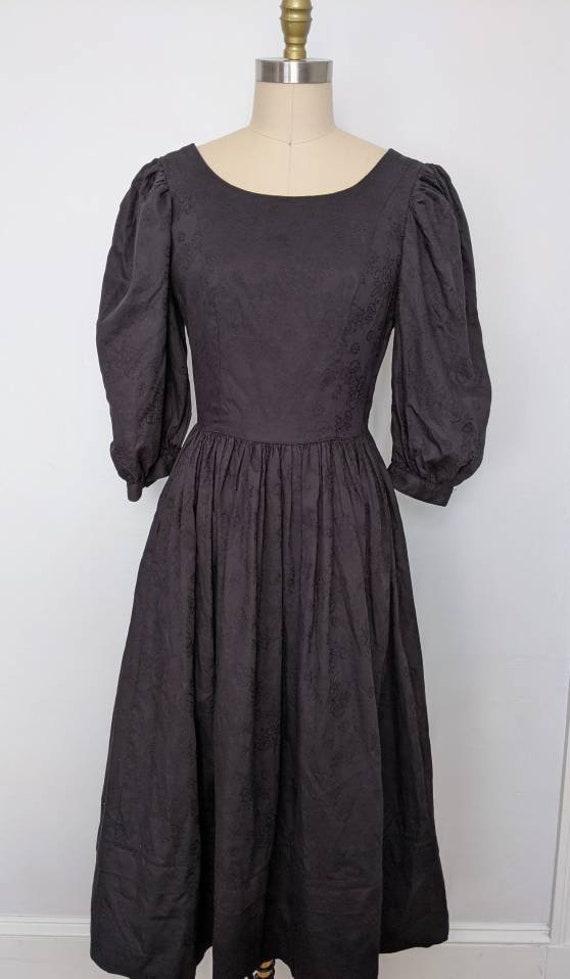 Vintage Laura Ashley Cotton Floral Dress