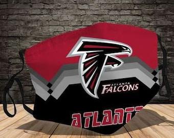 wiederverwendbarer Anti-Staub-Mundschutz Gesichtsschal Multi Usage Face Cover Up Atlanta Falcons Atmungsaktiver