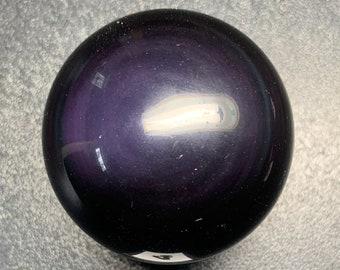 54mm Rainbow Obsidian Sphere RS4a