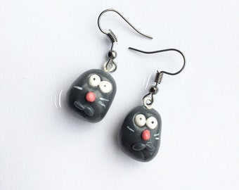 Baby Ratatouille Remy Exposed Meme Earrings