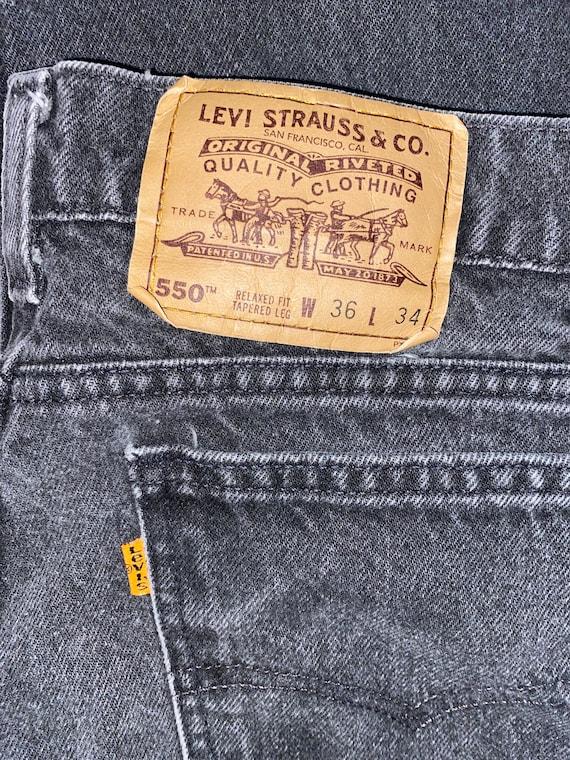 36x34, vintage Levi orange tag, Levi orange label,