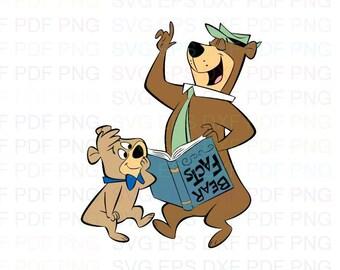 Yogi Bear Cards Etsy