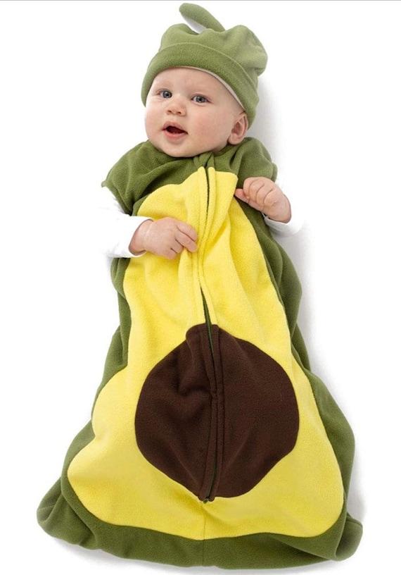 Avocado Baby Fleece Sleep Sack  Infant Wearable Blanket