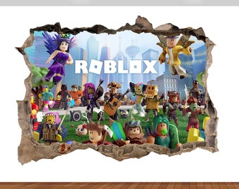 Roblox Poster Roblox Poster Etsy