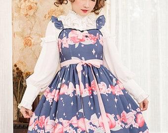 Cute Peach Lolita dress, lolita dress, Magic Tea Party