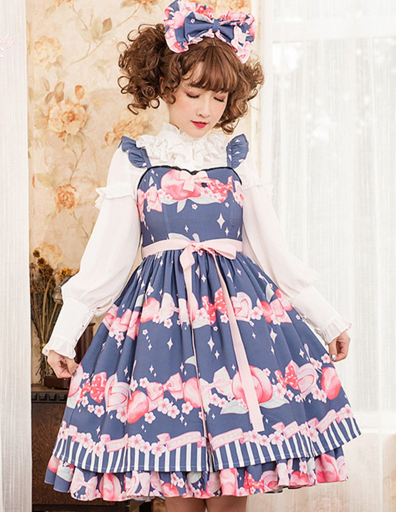 Cute Peach Lolita dress Magic Tea Party lolita dress