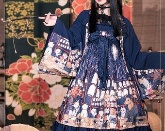 Wa Lolita, 夏祭り Firework Festival, lolita dress, Magic Tea Party