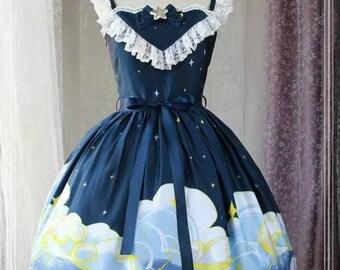 Starry Night, lolita dress, Magic Tea Party, Magic Tea Party