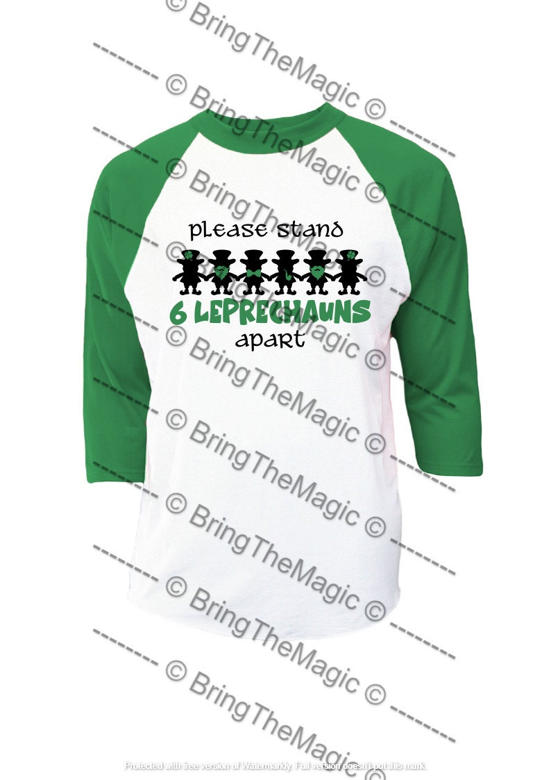 Patrick/'s Day SVG Pattys Day PNG parade Please stand 6 Leprechauns apart social distancing tshirt design Irish covid St party St
