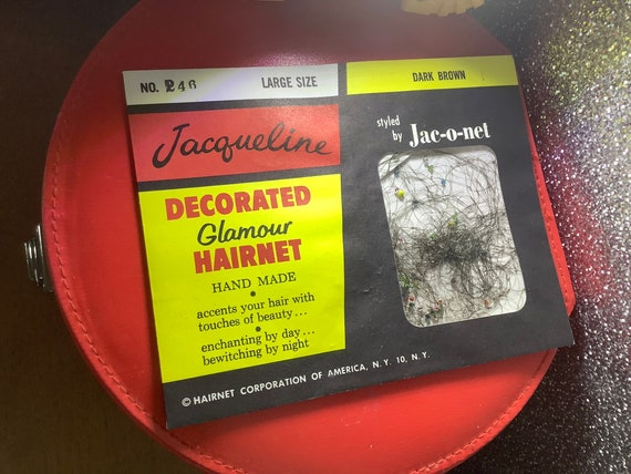 Jacqueline decorated glamour  hair net