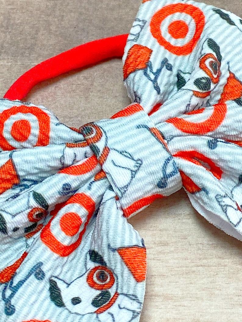 Baby Hair Bow Nylon Headband or Clip Baby Nylon Headband