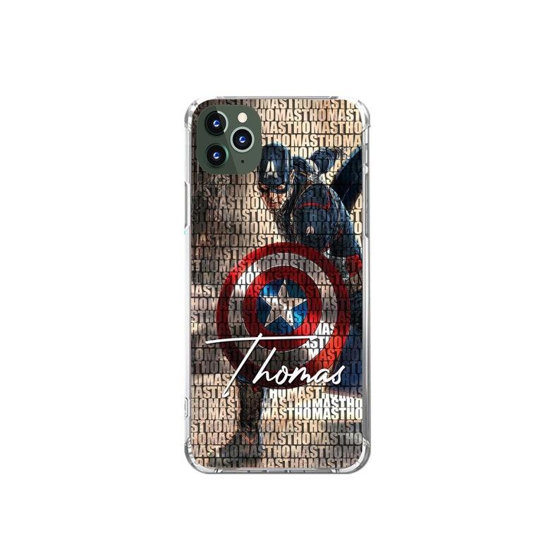 Amazon Hülle Huawei P8 Lite Captain America