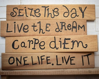 Inspirational Wood Signs Etsy