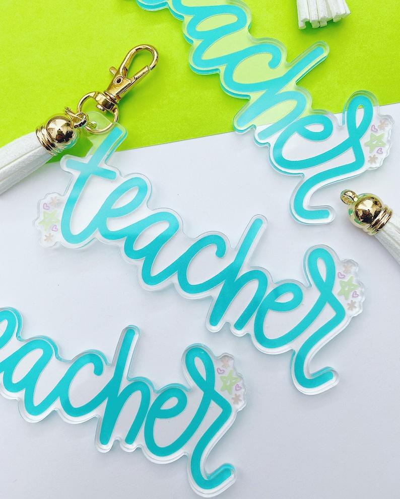 Keychain TEACHER