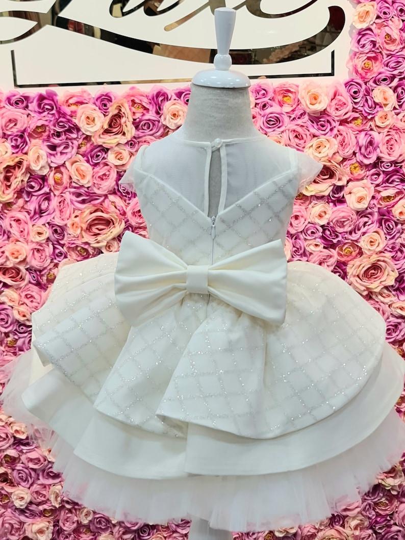 Girls party dress  Flower girls dress  Girls Tutu Dress