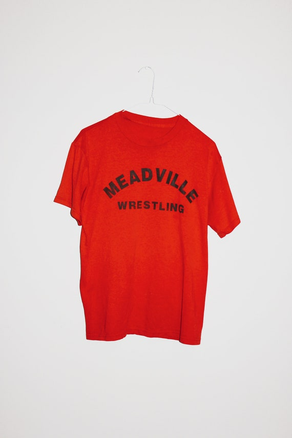 Vintage Meadville Bulldogs Wrestling T-shirt