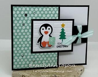 Be Cool Season's Greetings - Pack of 3 - Christmas Card