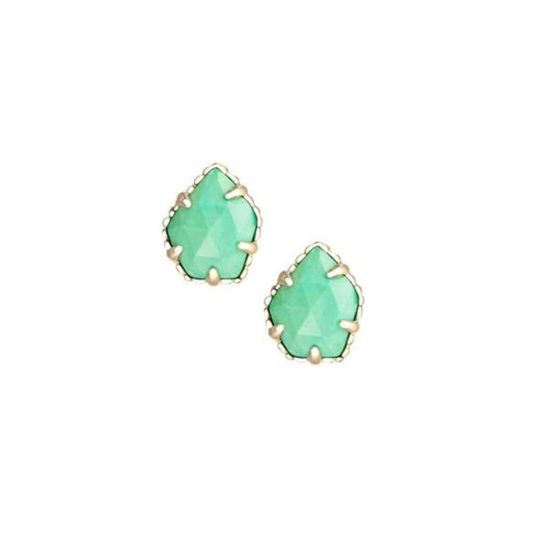 Chalcedony Stud Earrings