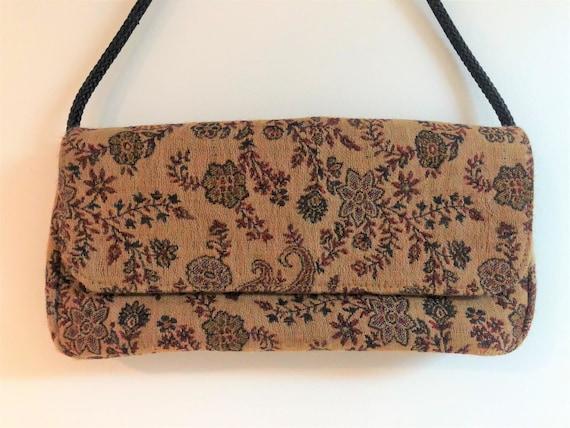 Tapestry handbag,