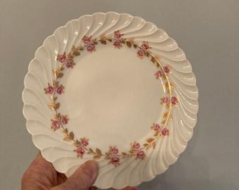 Antique Plates, 3 Floral Designs all Different Hand Painted  Plates Large Dessert Plates 3 Antique Haviland Limoges France Plates 9-58