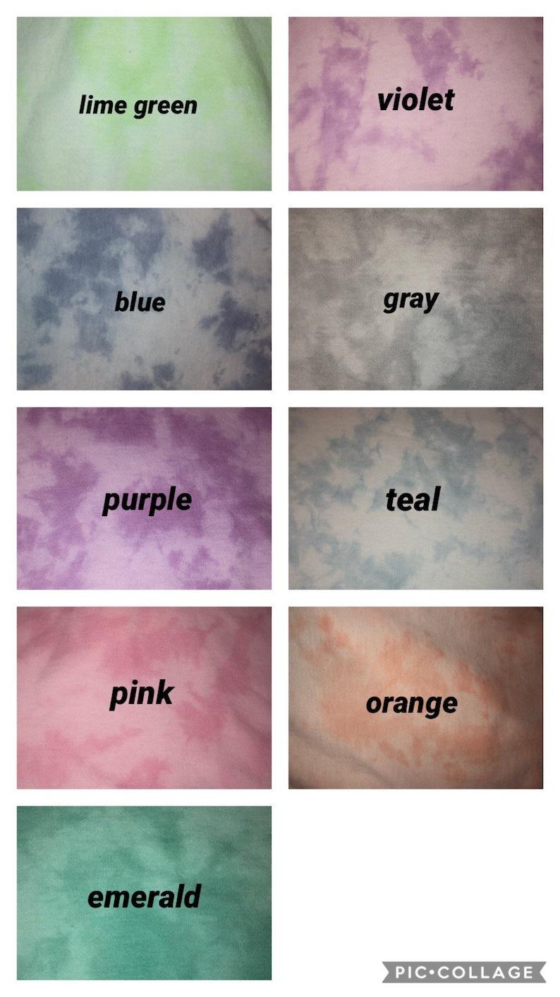 tie dye marble sweatpants